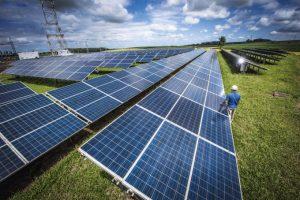 Como ocorre a geração de energia solar